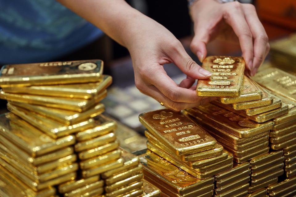 """Phe mua Vàng mới """"buy on dip"""" một cách mạnh mẽ!"""