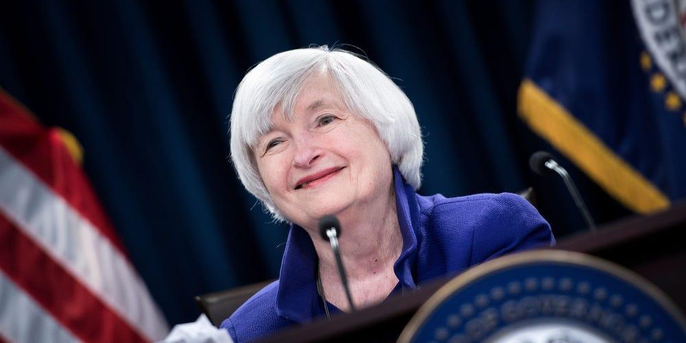 Cựu chủ tịch Fed Janet Yellen