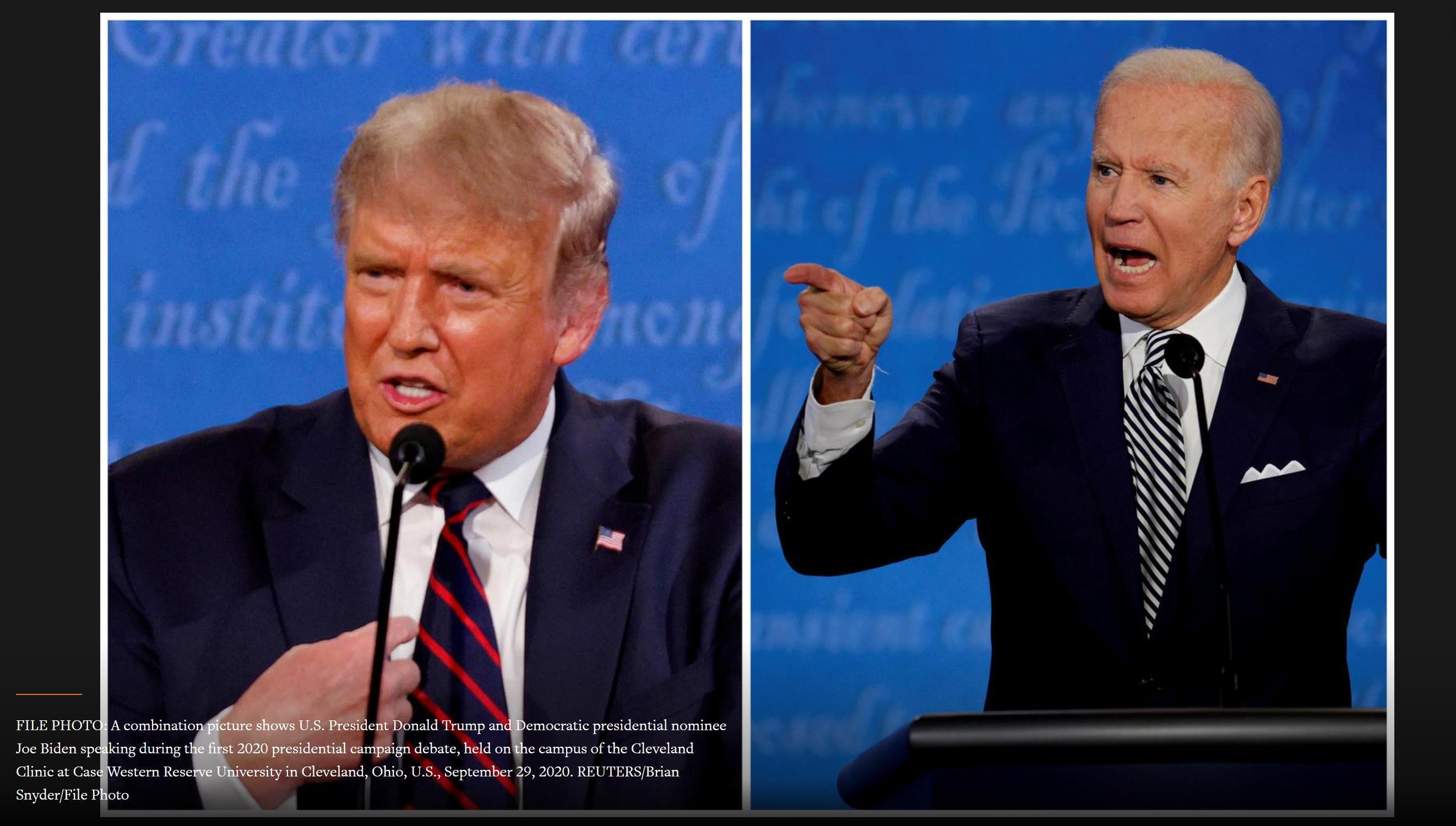 Ngay cả các luật sư chiến dịch tranh cử của Trump cũng quyên góp tiền cho Biden