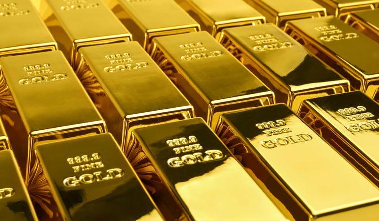 Vàng suy yếu mặc dù USD giảm trên diện rộng