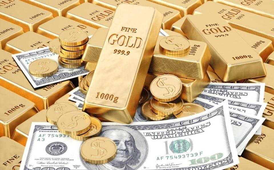 Vàng và USD hiện đang cùng giảm